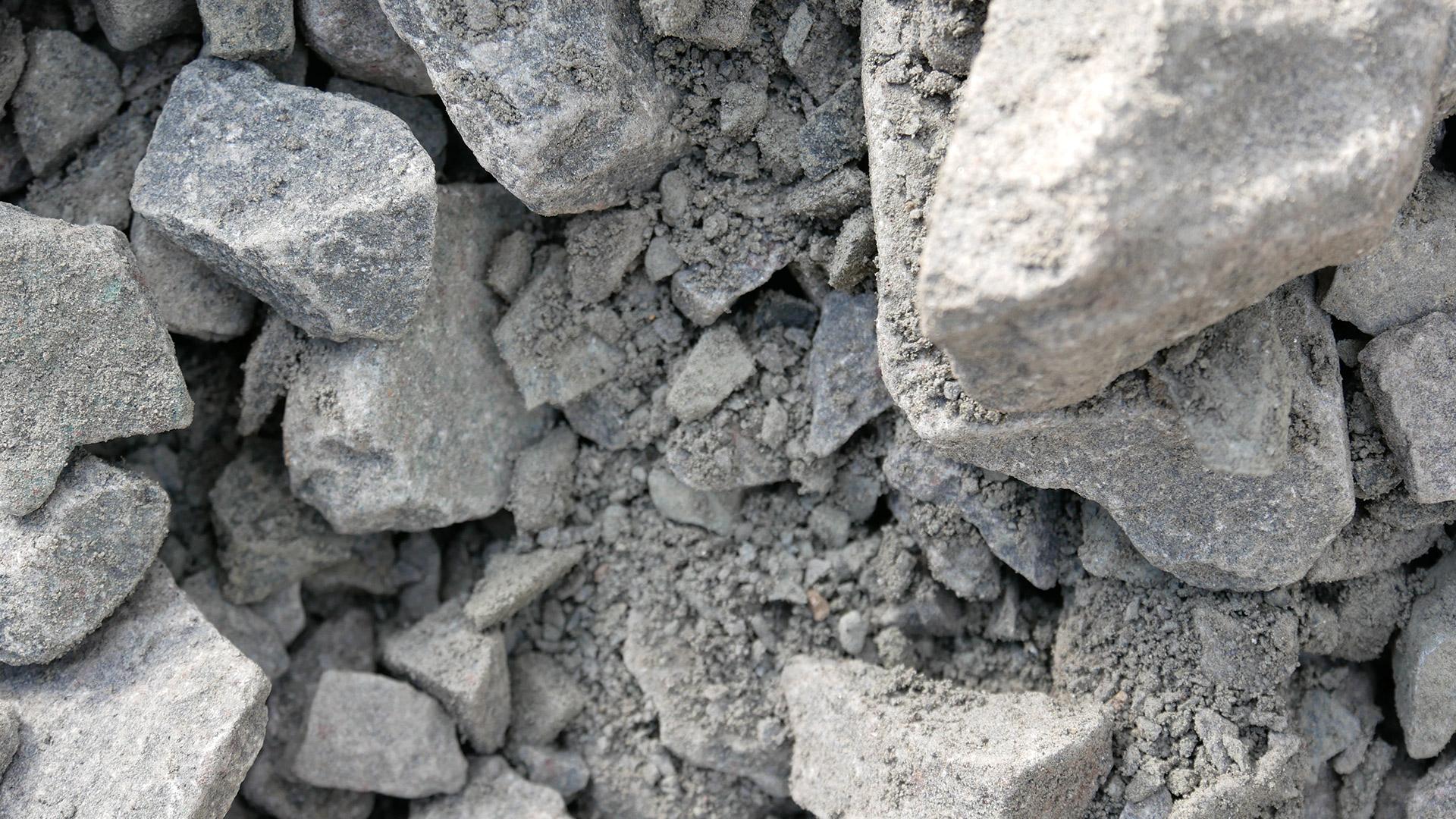 Natursteinschotter Basalt