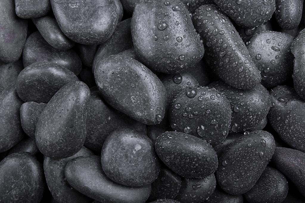 Glanzkies schwarz